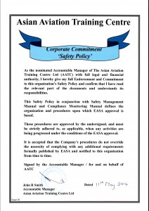 Corporate Commitment Safety Policy